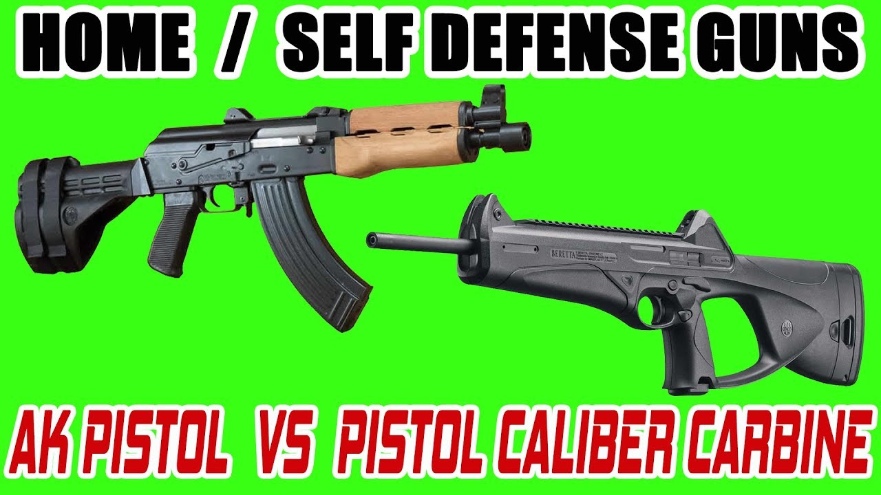Range Time w/ Ghost:  Home / Self Defense Guns - AK Pistol vs Pistol Caliber Carbine