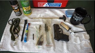 Smith and Wesson S&W Bodyguard .380 how to clean.