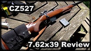 CZ527 7.62x39 THE MUST HAVE GUN