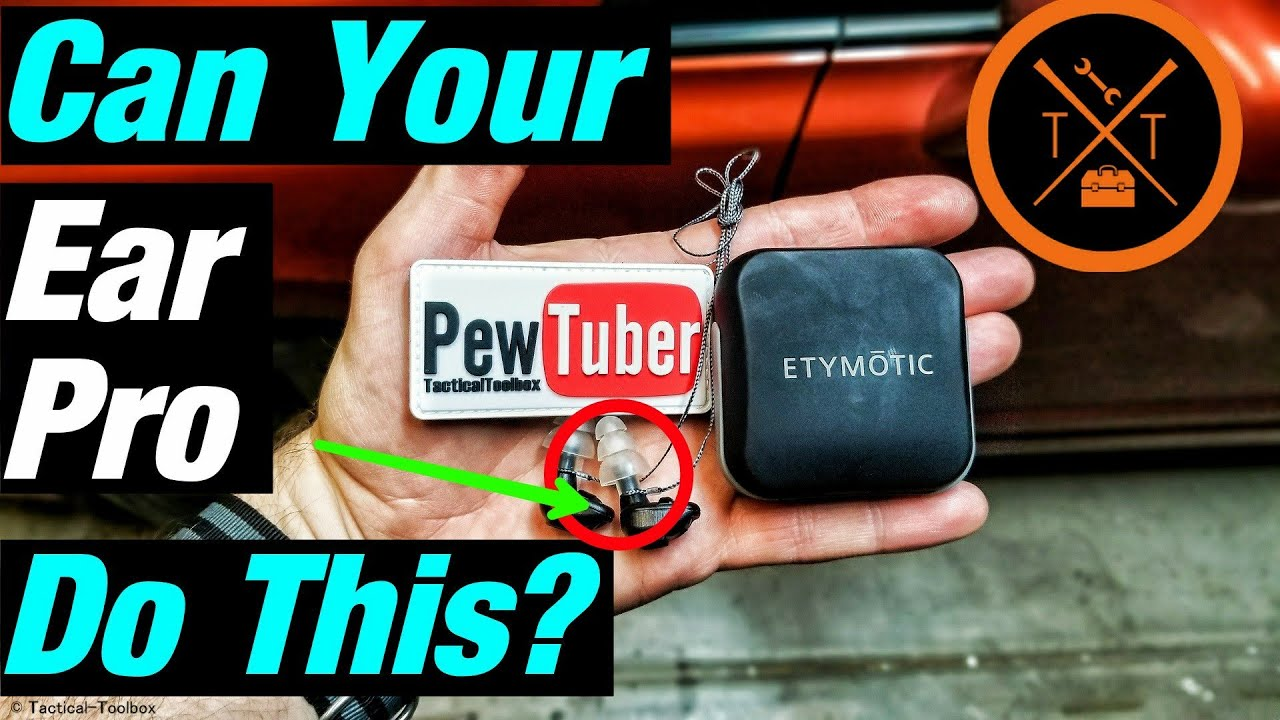 💥Best Electronic Ear Buds For Shooting 2017? Etymotic Gunsport Pro Review