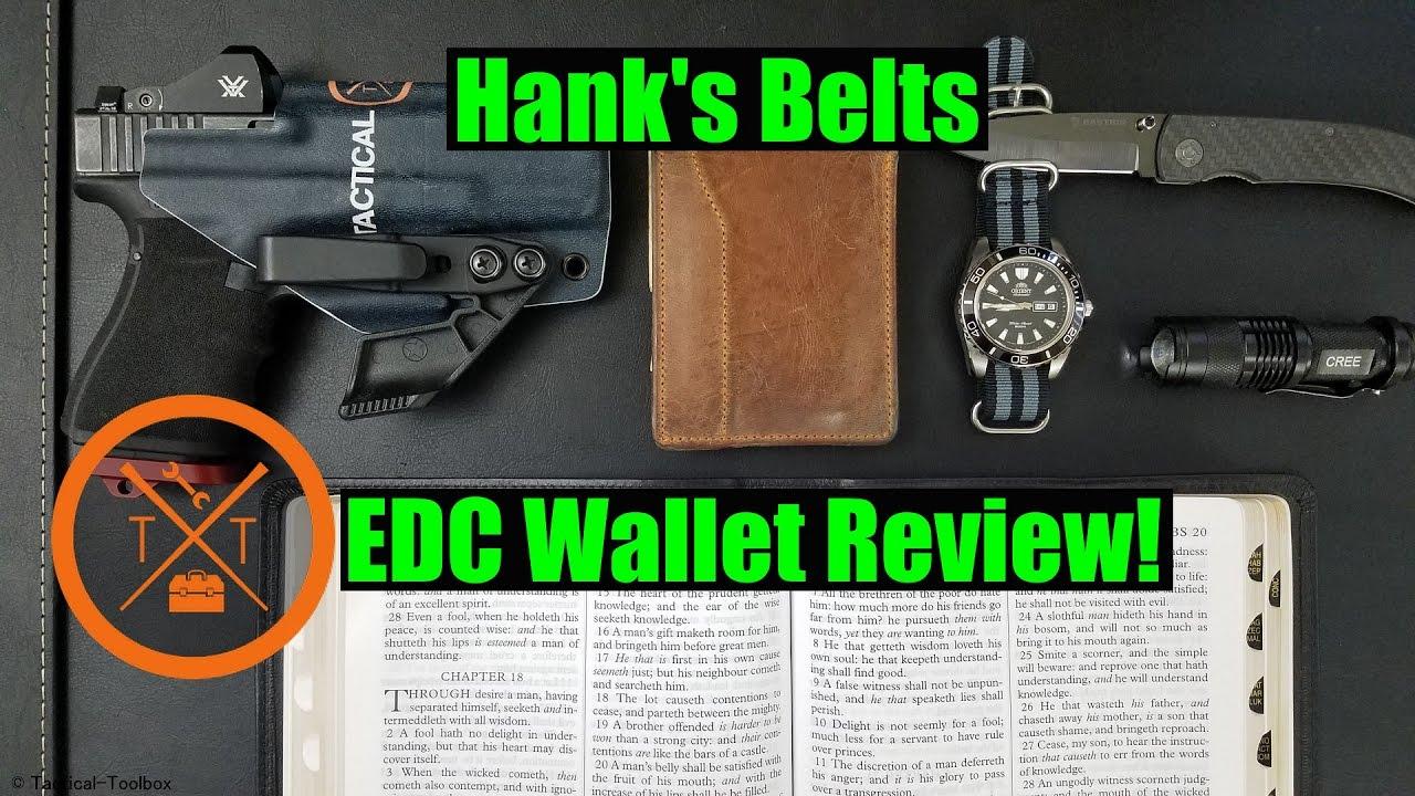 Hanks Belt's: EDC Wallet Review  ...(w/ Links & Codes)