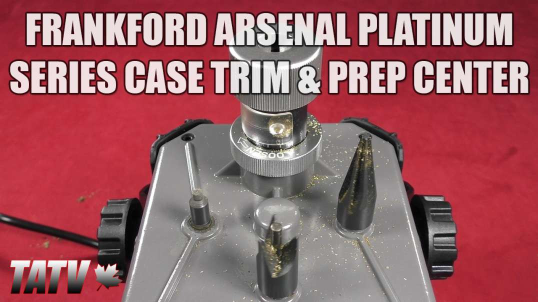Frankford Arsenal Platinum Series Case Trim & Prep Center