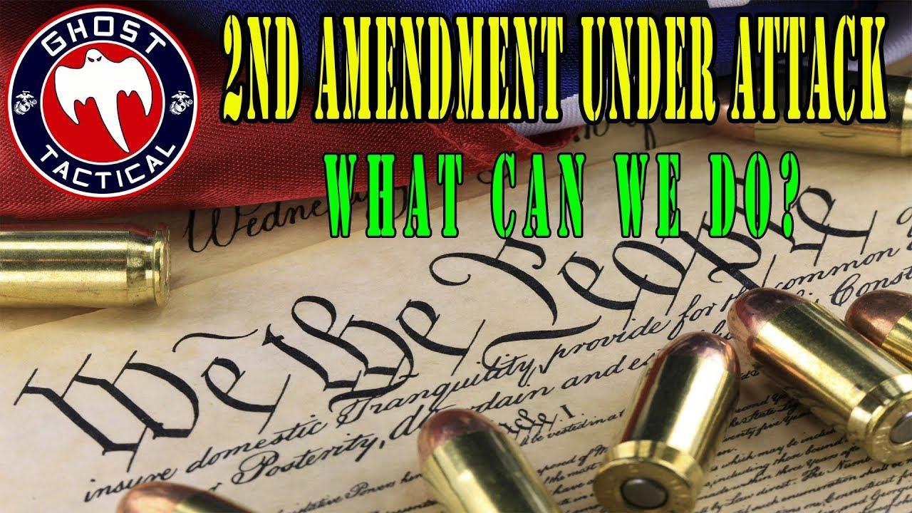 Gun Control:  2nd Amendment Under Attack:  What Can We Do?