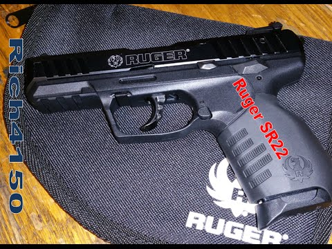 Ruger SR22 Unboxing and First Thoughts