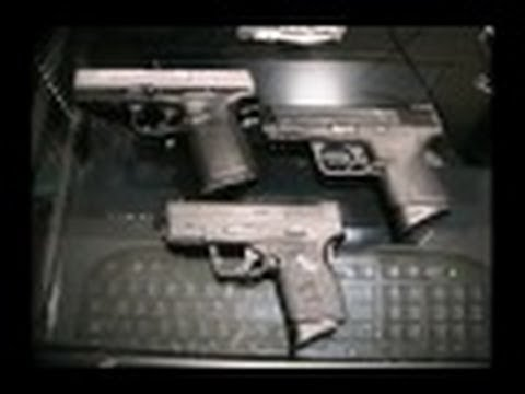 Chambering A Round Inserting The Mag; M&P40c XDs SD9VE