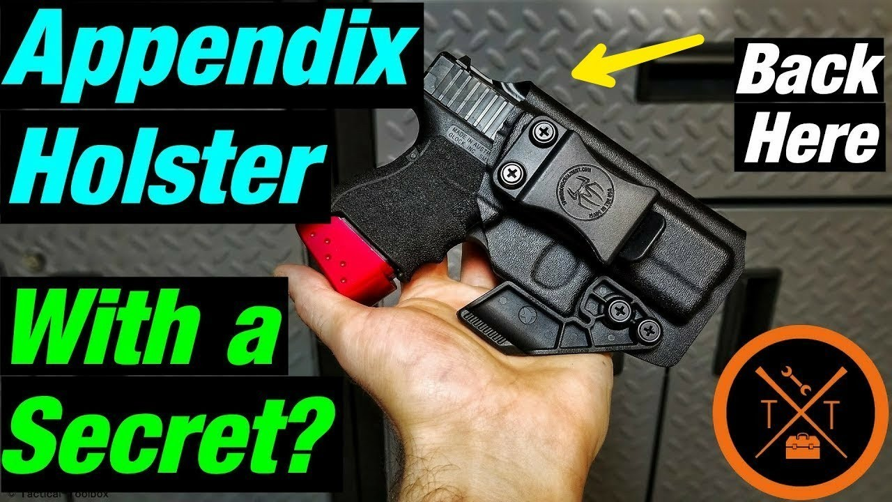 💥Is This The Most Comfortable IWB Appendix Holster??👉 Spider Concealment?