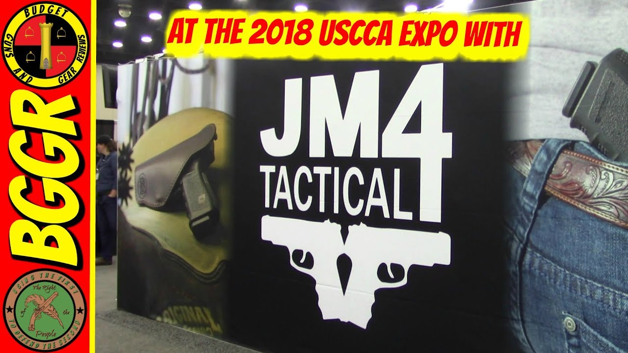 JM4 Tactical At The USCCA Expo- Holsters For Concealed Carry