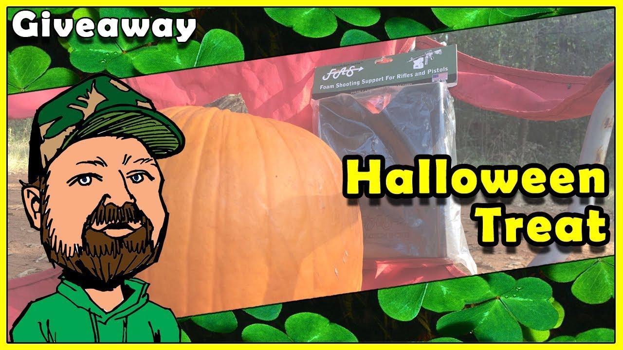 CloverTac October Giveaway - Foam Action Sports Rest - Jack O Lantern Pop & Halloween Special