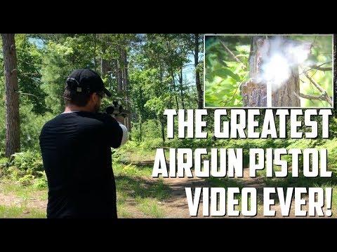 The GREATEST Airgun Pistol Video EVER! Exploding Golf Balls - Star Wars Blasters - and Airgun Darts!