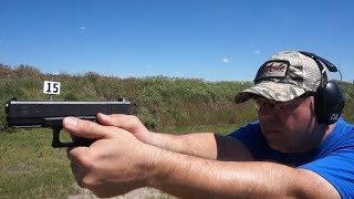 Gen 3 Glock G32 357 Sig accuracy test and range report!