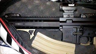 Covert Bag Ar-15 Pistol