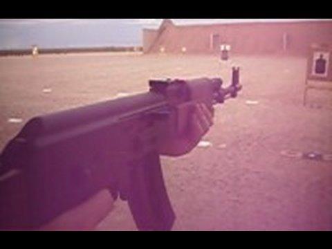 Shooting the .22 caliber AK47