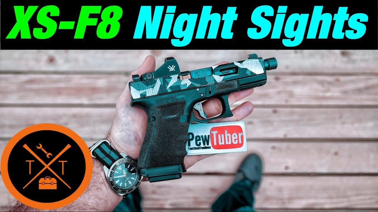 Best Night Sights 2018? // XS-F8 Night Sights ...(w/ Links & Codes)