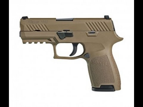Sig Sauer To Release Limited Run of Army M17 P320s to the Public