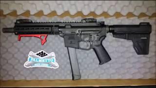 "PSA 8"" Ar9 Pistol Initial Impression"