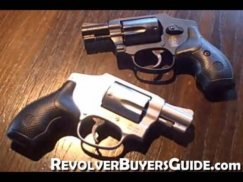 Smith & Wesson Model 442 & 642  38 +P Airweight Revolvers