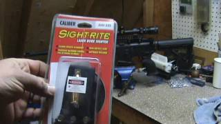 Sight-Rite Chamber Cartridge Laser Bore Sight .226,5.56 pt.1