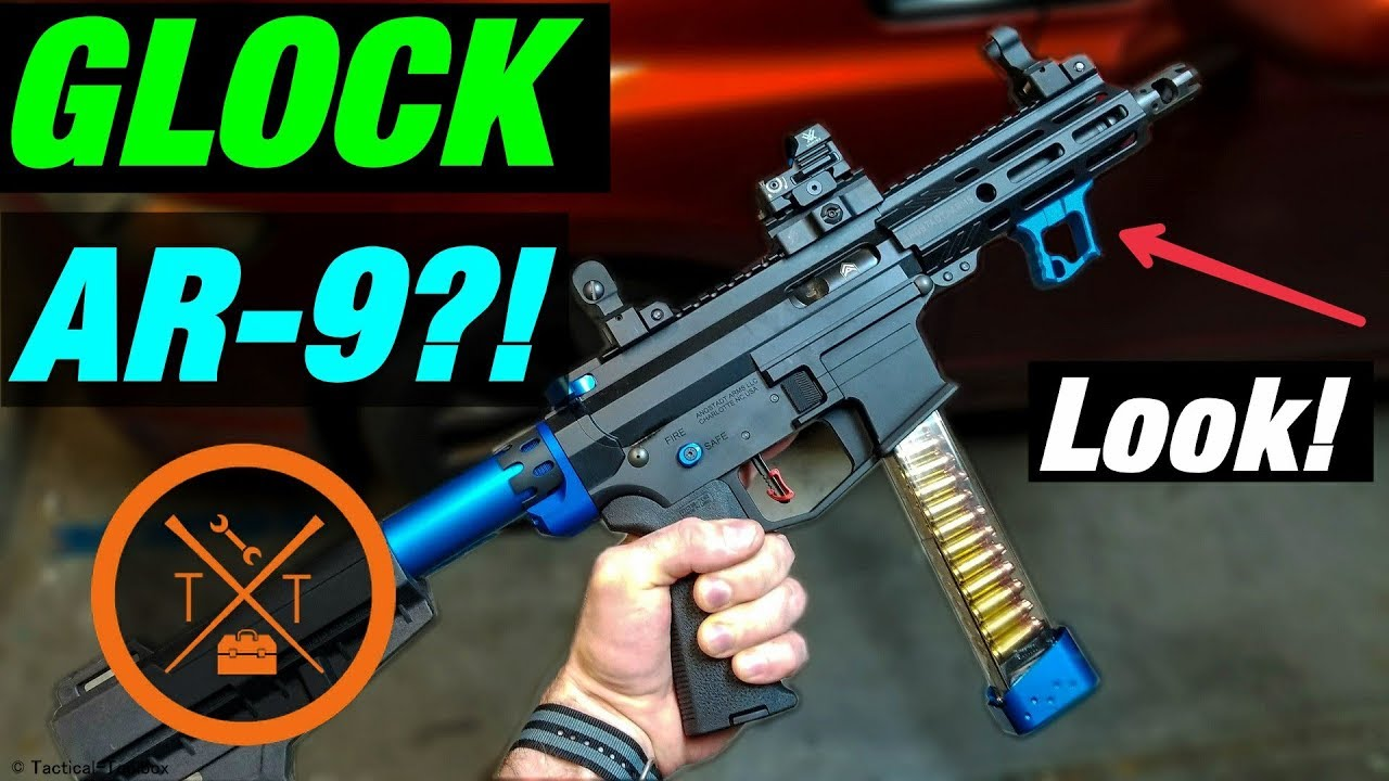 😍Angstadt Arms AR 9mm Pistol Review! 💥Glock Mag Compatible AR15