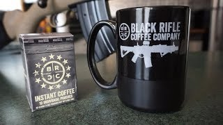 Instant Awesome! Black Rifle Coffee Company Instant Coffee!