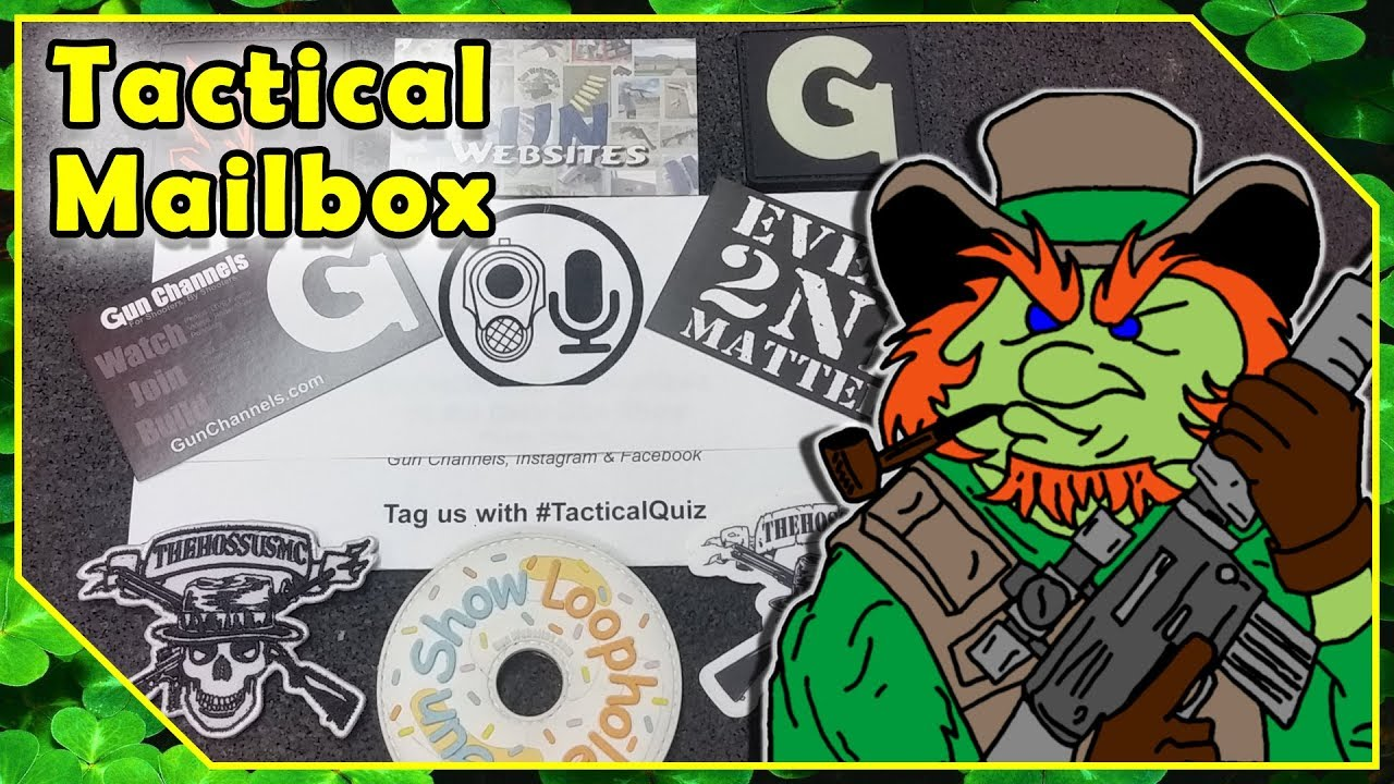 Gun Swag Mail Call - The Daily Gun Show #TacticalQuiz Prizes