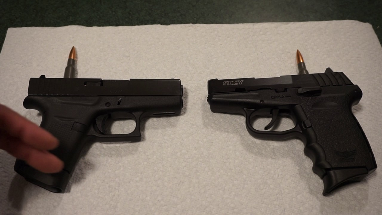 Glock 43 vs. SCCY CPX-2...which one should YOU choose?