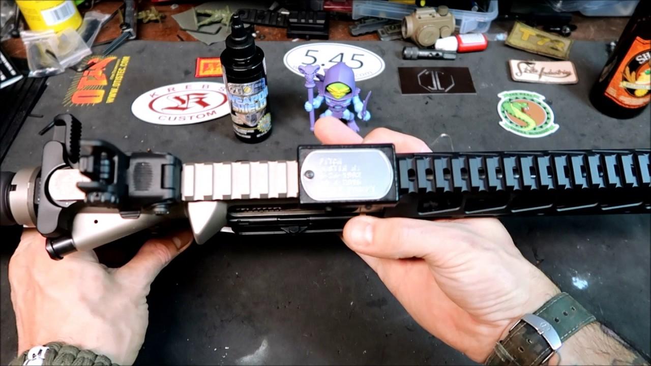 "new dr guns llc 10"" mlok  handguard  for the 300blk  ar pistol #JustinsFinalMission"