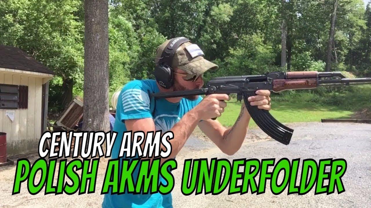 Century Arms Polish AKMS Underfolder 7.62x39 AK47