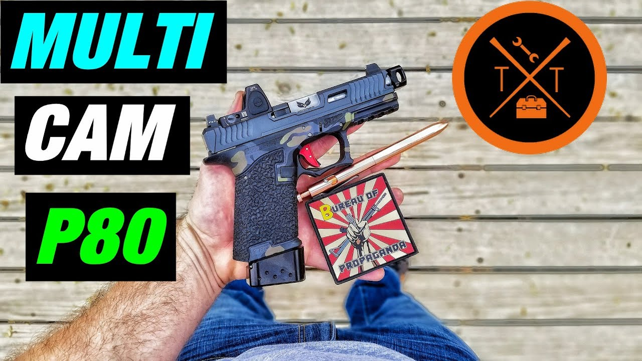 OMG! // Best Polymer 80 Glock 19 Frames Ever!...(w/ Links & Codes)