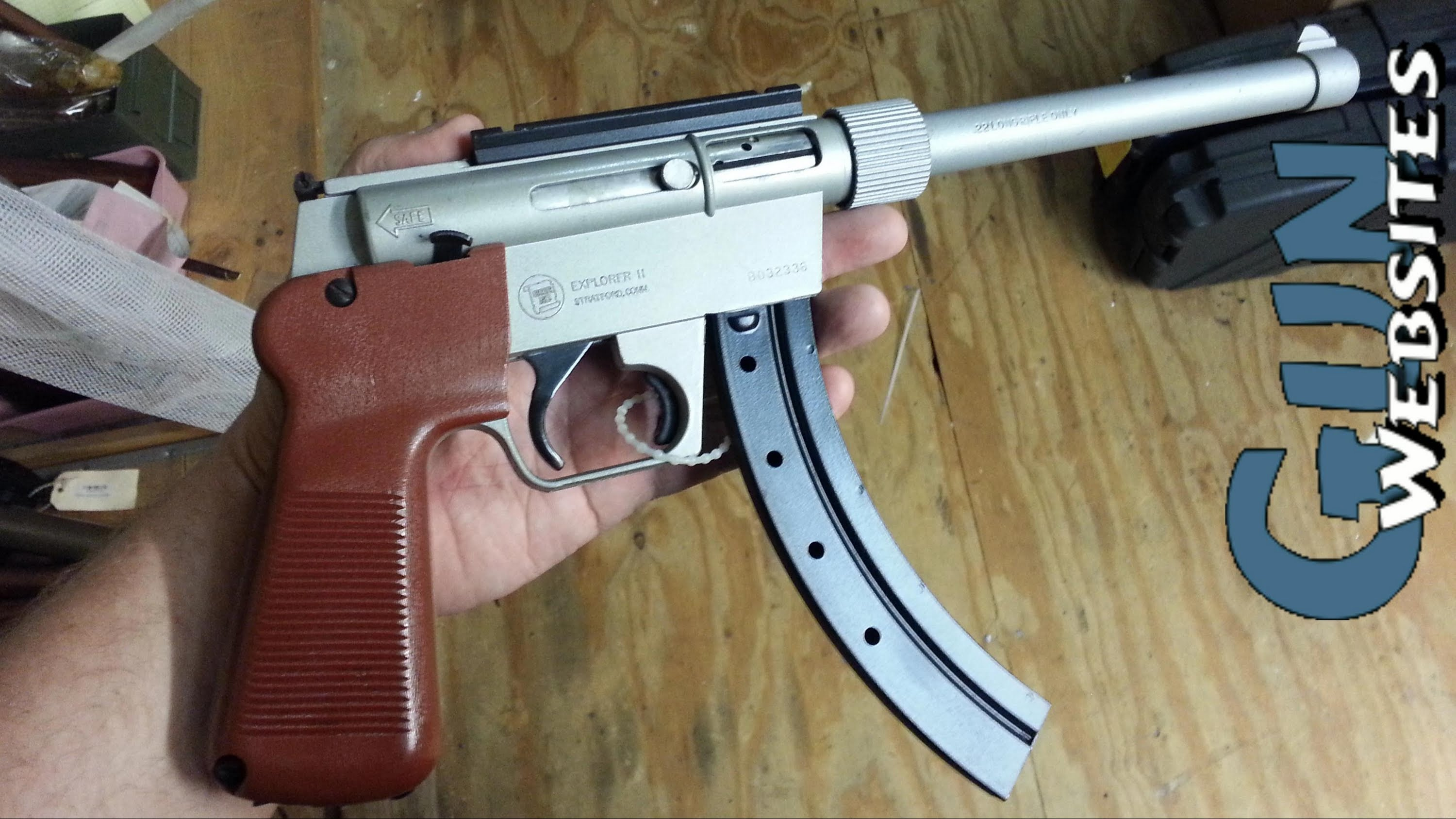 Explorer II  22 Survival Pistol from Charter Arms