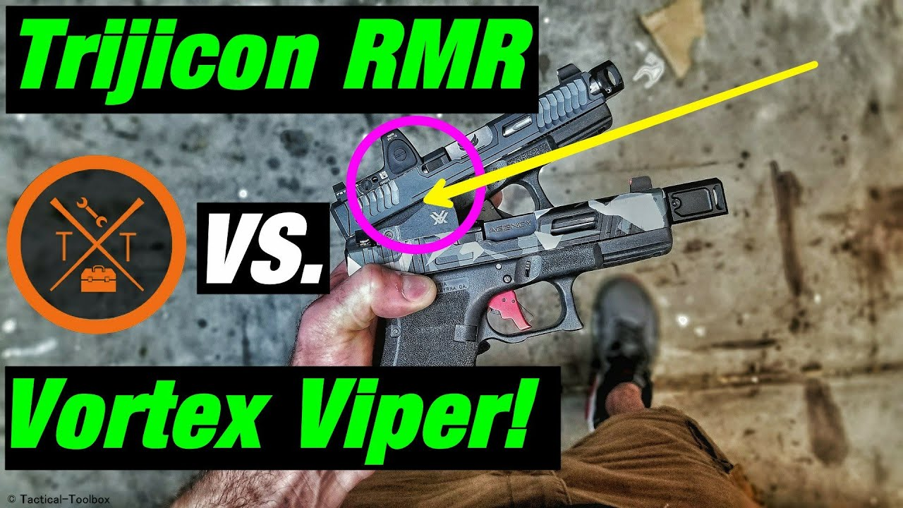 💥Trijicon RMR Vs Vortex Viper⚡Which Is The Best Red Dot Optic For The Money??