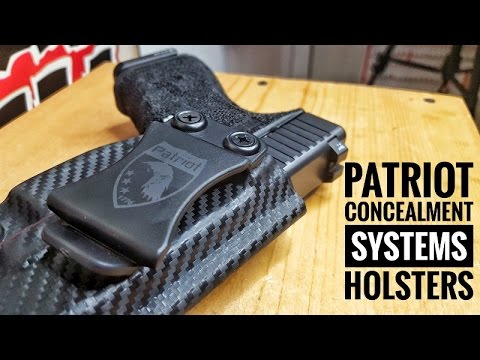 Patriot Concealment Systems Holster Review. Top Notch Kydex!