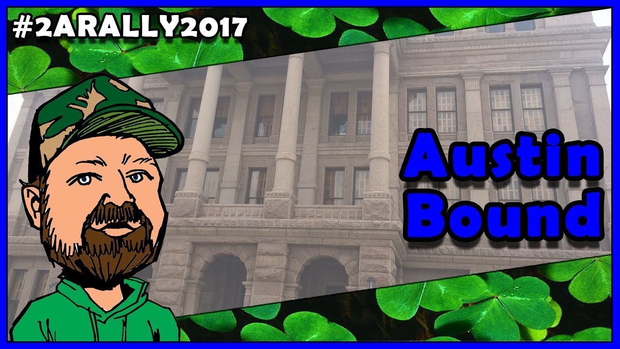 Early Morning, Headed South - #2ARALLY2017 - 2A Capitol Rally Austin Texas