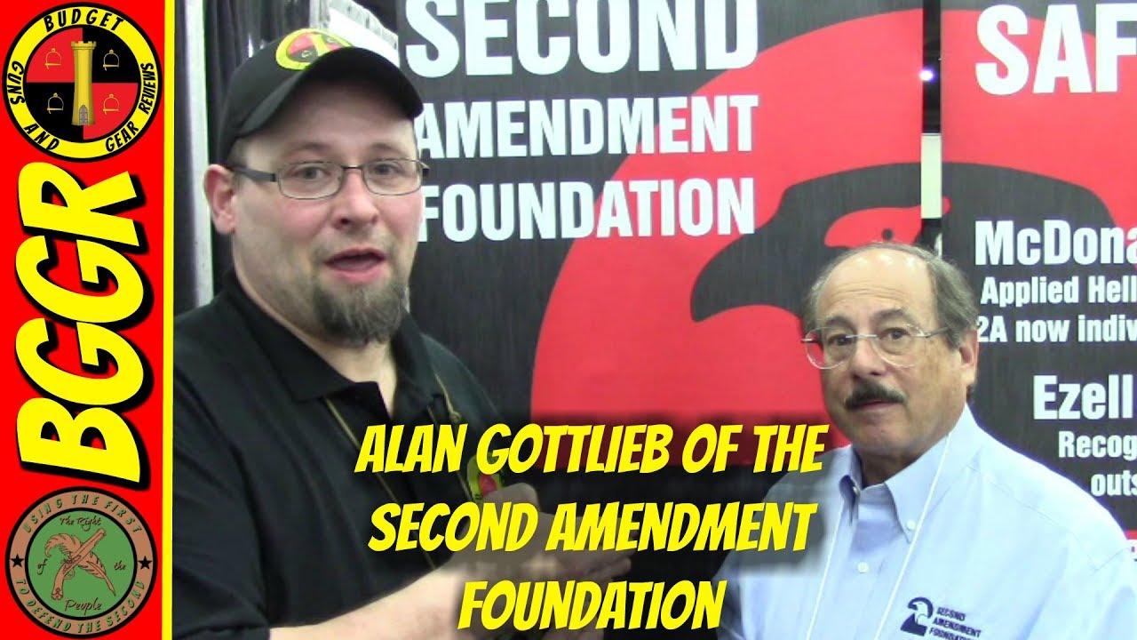 Alan Gottlieb, Founder of the Second Amendment Foundation!