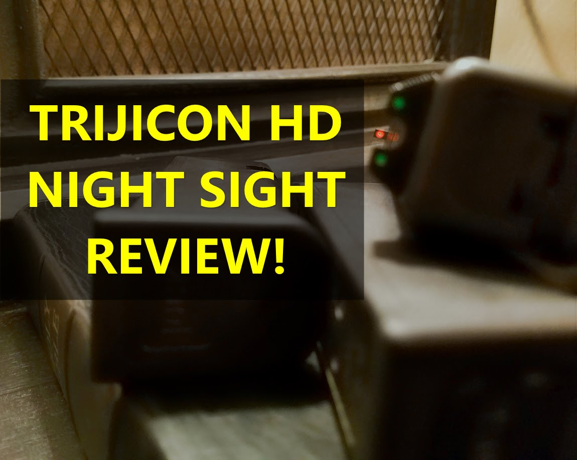 Glock 19 Trijicon HD Night Sights Review. Are They The Best Glock Sights?
