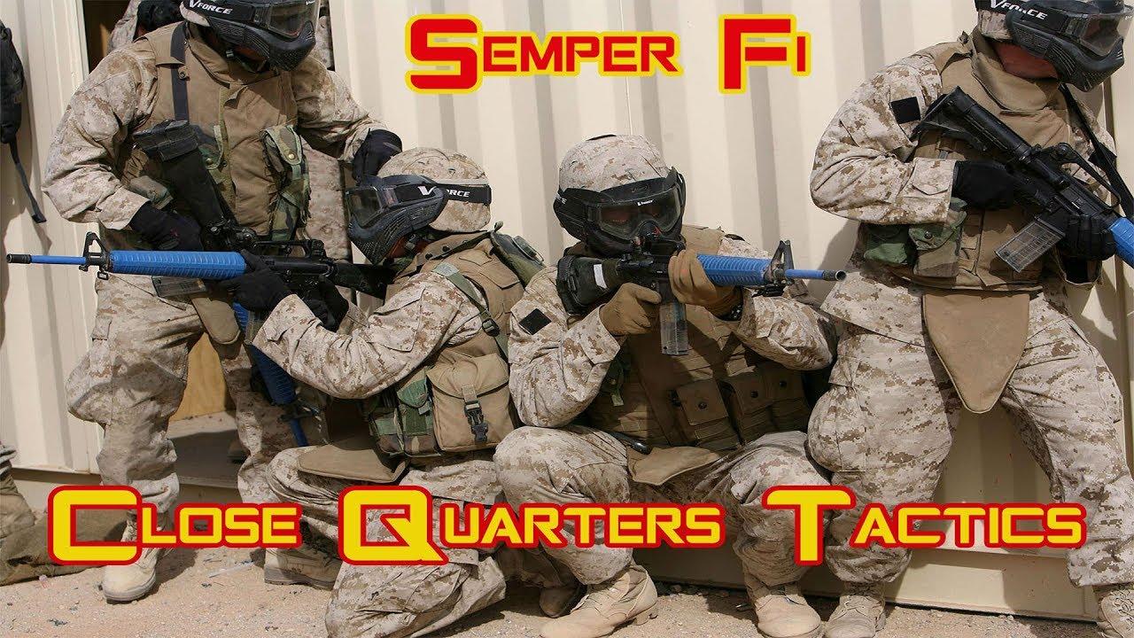 Semper Fi:  Marines Close Quarters Tactics Training