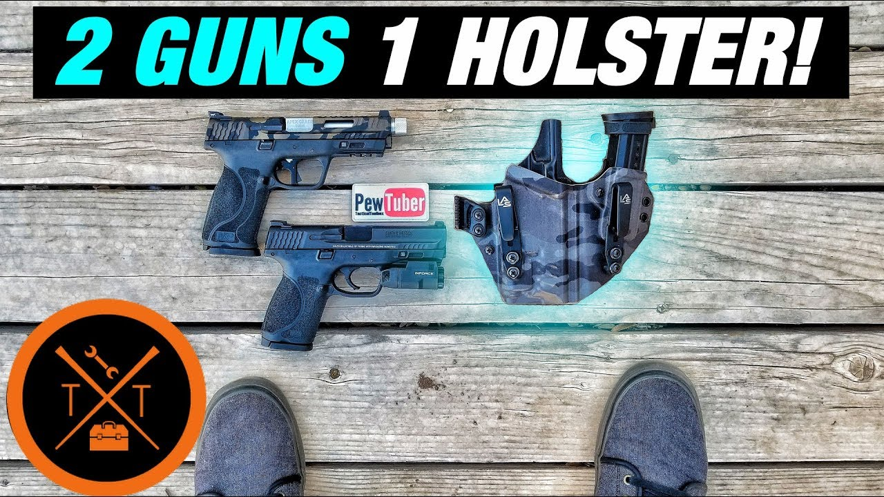 M&P 2.0 Compact Holster Goes Both Ways?! ...(w/ Links & Codes)
