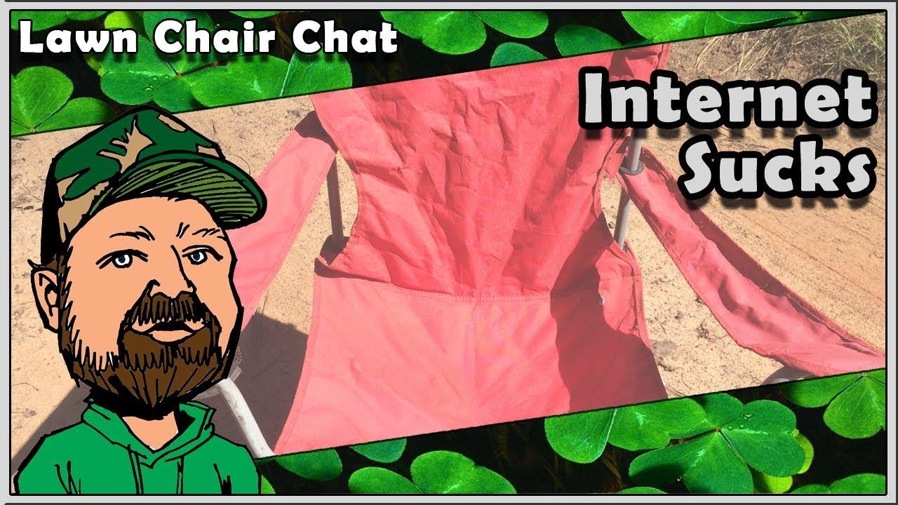 CloverTac Lawn Chair Chat - Internet Connection Problems - Hank Strange Said What?