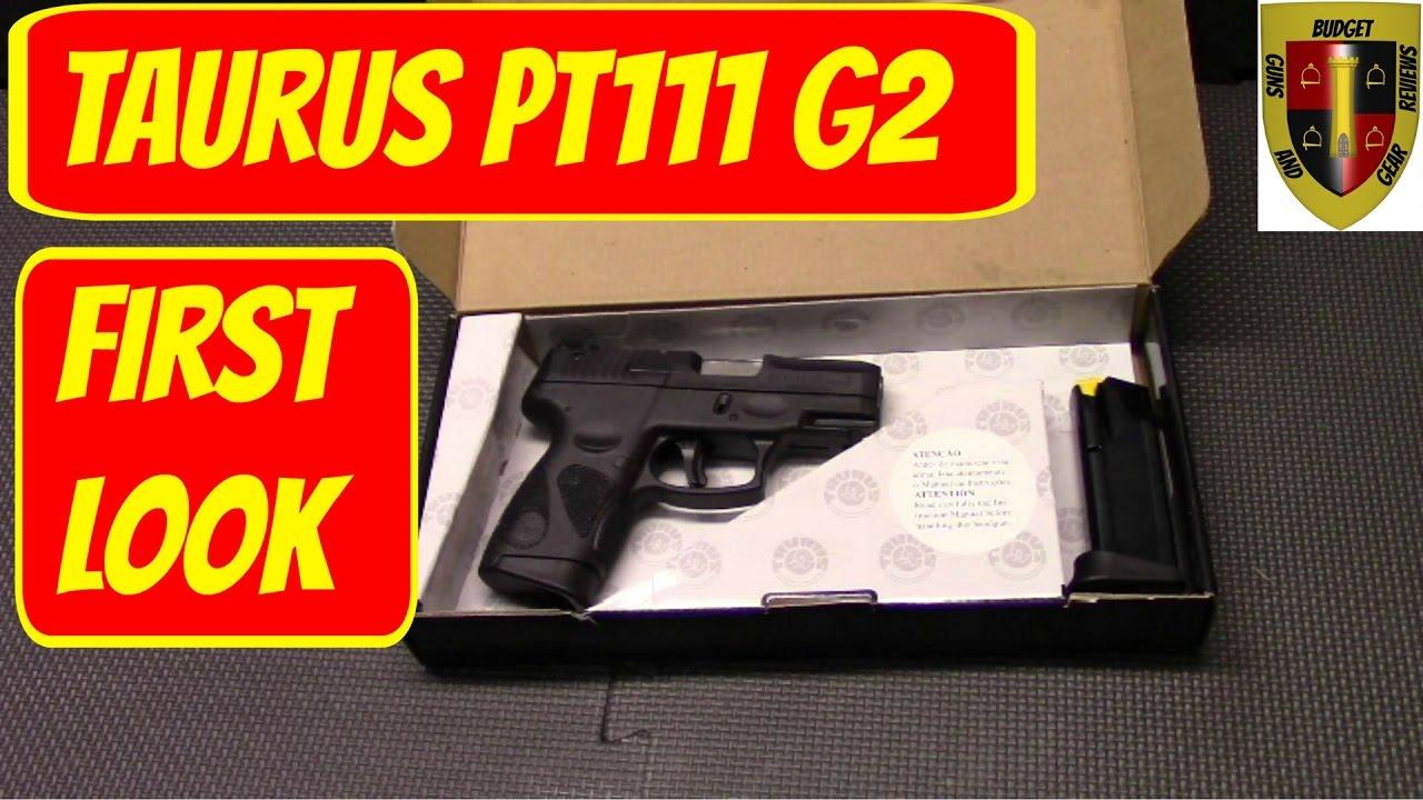 Taurus PT111 Millenium G2 Tabletop Review