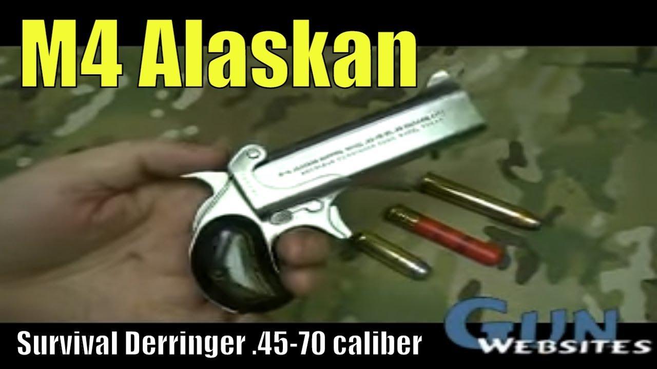 M4 Alaskan Survival Derringer in .45-70 caliber, Do You Want to Shoot this BIG Derringer?