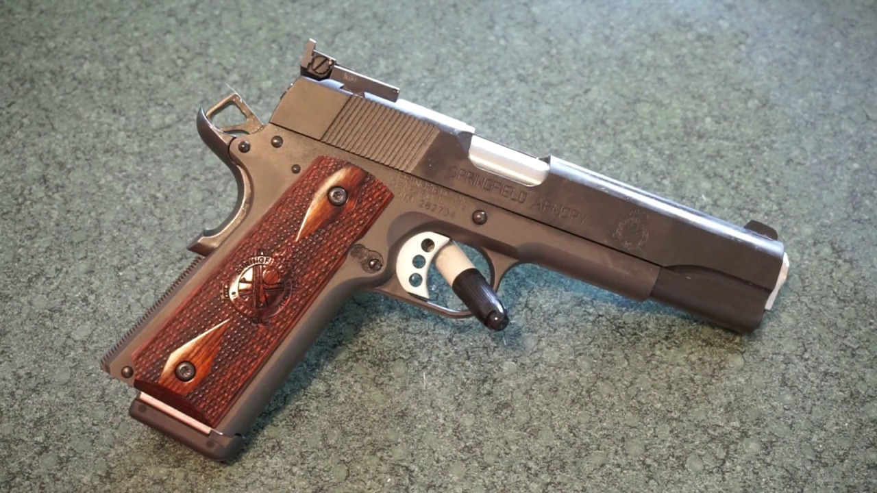 Springfield Armory Range Officer 1911 .45 ACP Tabletop Review!