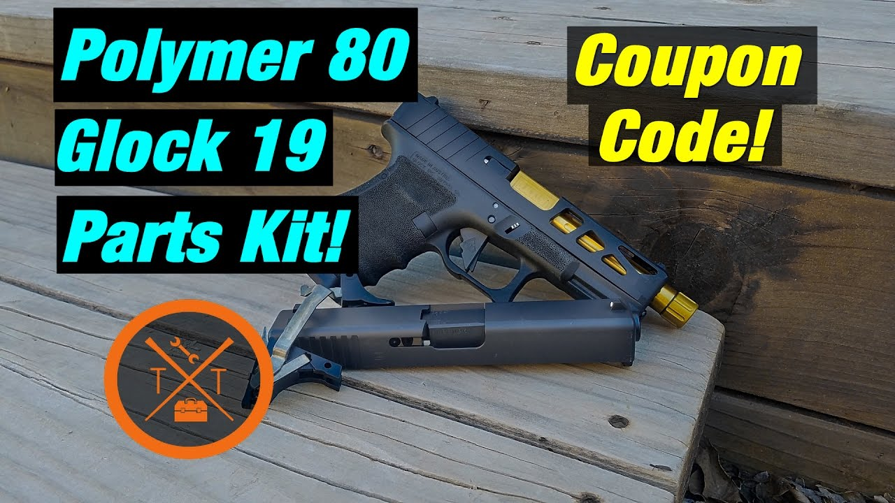 Polymer 80 Glock Parts Kit // Glock 19 PF940C ...(w/ Links & Codes)