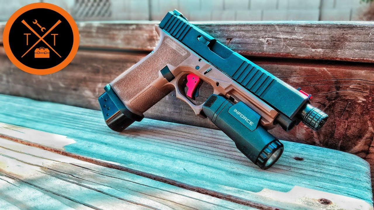 AWW YEAH! Custom Glock 19 LONG Slides // (COUPONS)