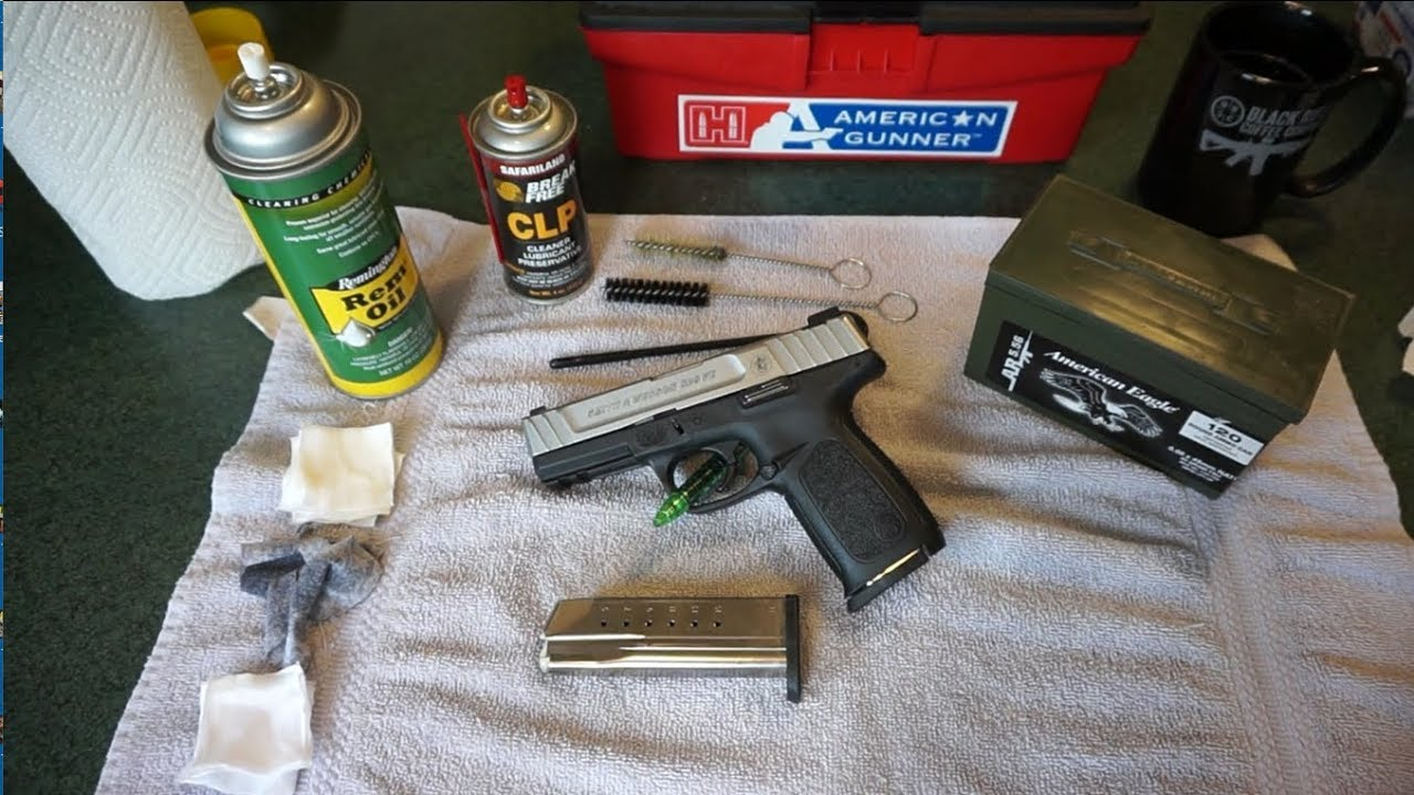 Smith & Wesson SD9VE Cleaning!