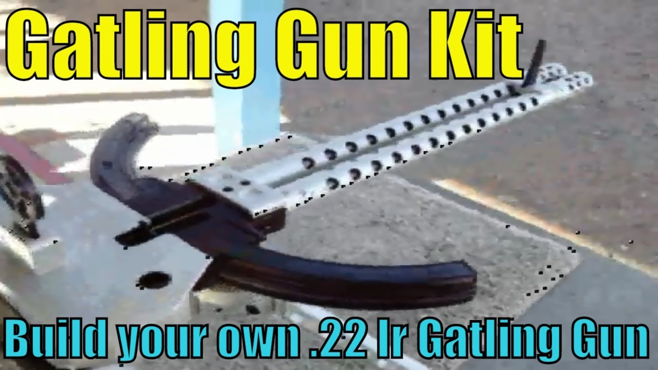 Tactical Innovations 10/22 Gatling Gun Kit - Build your own Gatling Gun in 22lr
