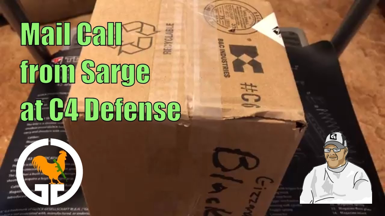 Mail Call from Sarge at C4 Defense