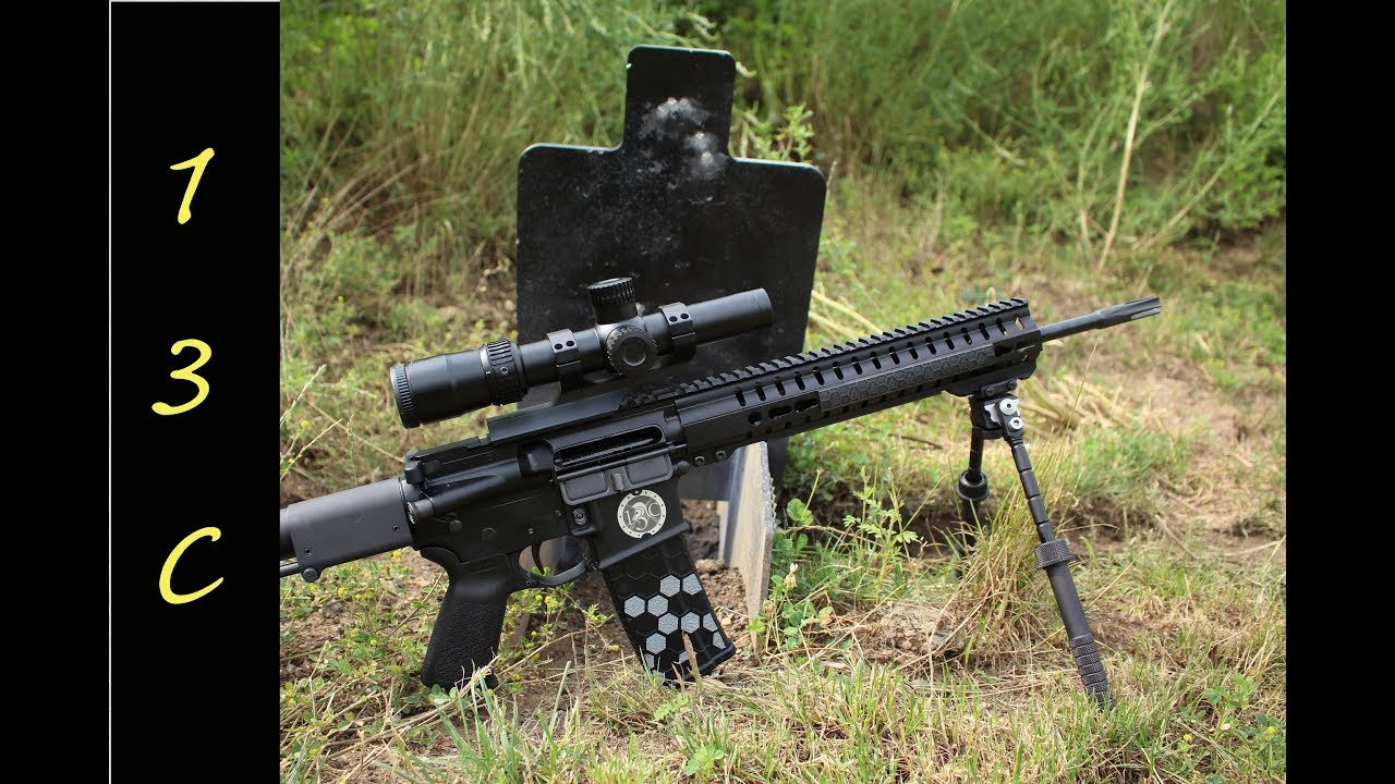 Nikon Black Force 1000 1-4x24 IL Speedforce optic