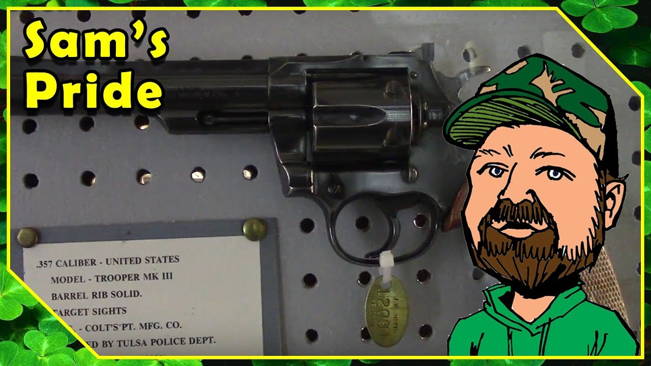 Colt Double Action Revolver Display - Lawman, Trooper & Officer - JM Davis Arms & Historical