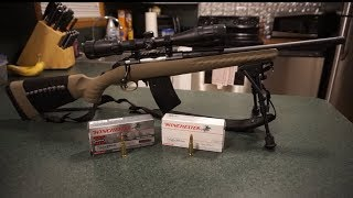 Sonicking Bipod Range Test with Ruger American 7.62x39