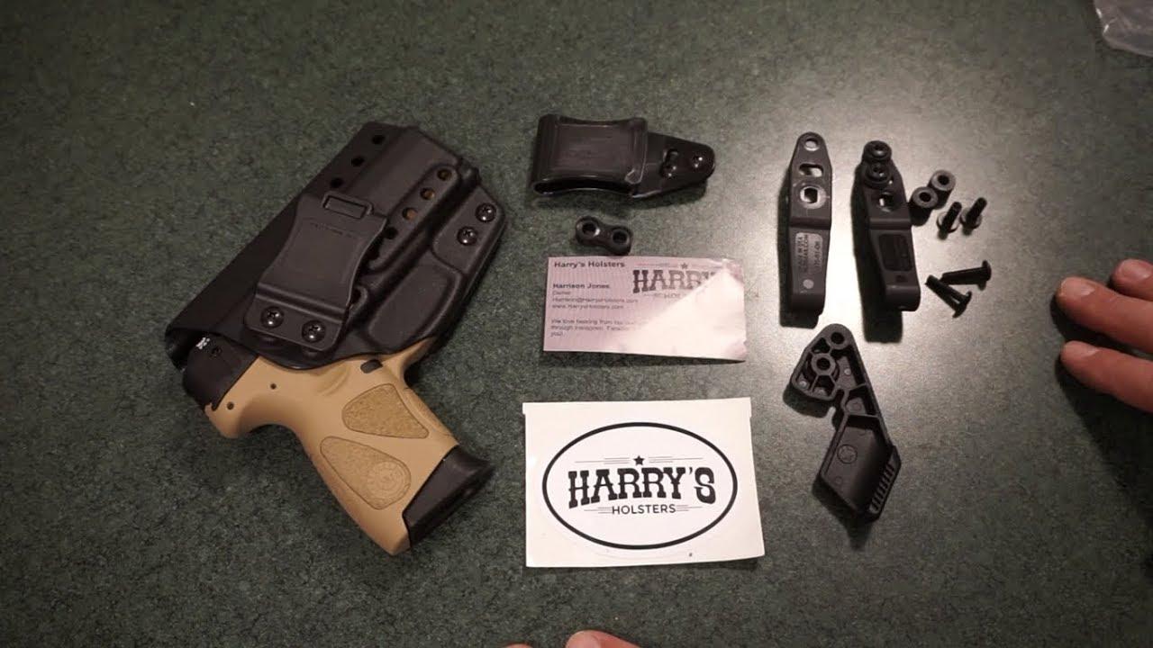 Harrys Holsters Insider Infiltrator Taurus PT111 G2 holster unboxing