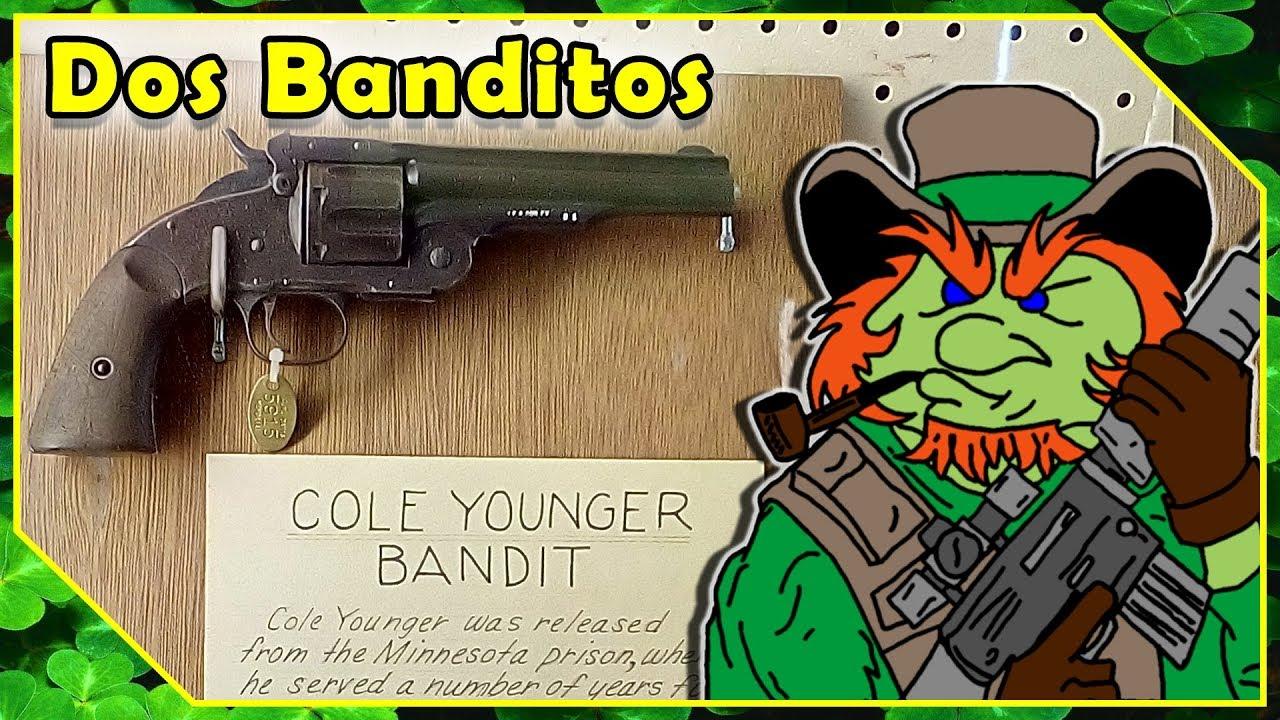 Cole Younger & Pancho Villa - S&W Schofield - JM Davis Gun Museum Claremore Oklahoma